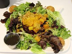 Lunch will be here in not time! How about a Beet and Goat Cheese Salad from Leo Bistro today? See the full menu at www.leobistro.com. Beet And Goat Cheese, Goat Cheese Salad, The Bistro, Beets, Leo, Good Food, Lunch, Restaurant, Dining