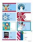 Free Holiday Gift Tags! Make your gift more memorable with these adorable free gift tags!