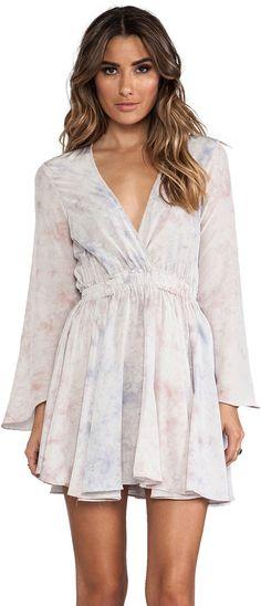 LoveShackFancy Long Sleeve Mini Dress on shopstyle.com.au