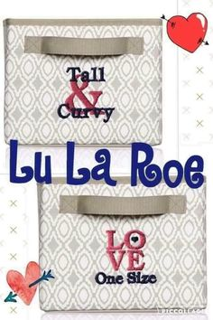 Lu La Roe seems to be the new latest trend! Probably because there stuff is amazing! What a better way to store your buttery soft leggings than with these Thirty One totes!