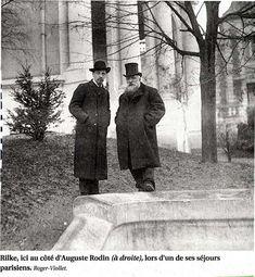 5 September (1902): Rainer Maria Rilke and Rodin.