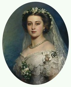 Victoria, Princess Royal (1840-1901), later Empress Frederick of Germany Signed and dated 1857. Franz Xaver Winterhalter (1805-73)