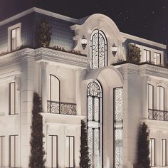 Architecture Design by IONS - Private Mansion - UAE