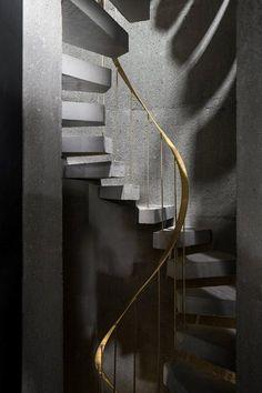The Arquiplago Contemporary Arts Centre, Ribeira Grande, 2014 - Menos é Mais Arquitectos #staircase