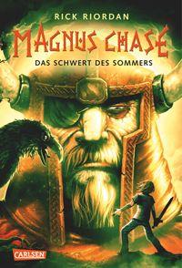 """""""Magnus Chase - Das Schwert des Sommers"""" von Rick Riordan hat mich ja so geflasht. Eine echte Leseempfehlung, für alle, die Fantasy mit Humor mögen."""