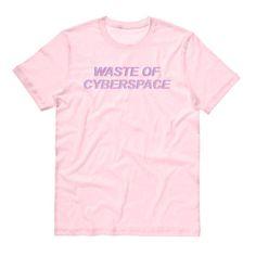 Déchets de Cyberspace Shirt, vêtements Vaporwave, Pastel Goth, Cyber Punk, Cyber Girl, Tumblr esthétique, doux Grunge
