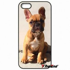 Hot Sweet French bulldog Animal Dogs Phone Case For iPhone 4 4S 5 5C SE 6 6S 7 Plus Samsung Galaxy Grand Core Prime Alpha