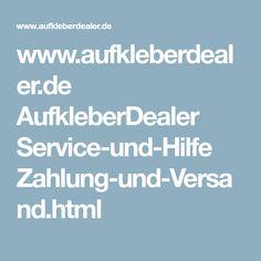 www.aufkleberdealer.de AufkleberDealer Service-und-Hilfe Zahlung-und-Versand.html