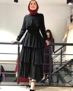 Hijab Prom Dress, Hijab Evening Dress, Hijab Style Dress, Muslim Fashion, Modest Fashion, Fashion Dresses, Women's Dresses, Elegant Dresses, Hijab Mode Inspiration