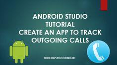 android studio tutorial