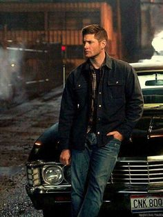 Hey, I'm Dean Winchester. I'm the older brother of Sam Winchester. Now, only one of my parents are dead, and that's my dad. I dated the darkness for a bit, now I'm dating an angel. I'm addicted to classic rock, my car, hunting, and pie. You hurt anything I love, I will kill you and skip rope with your entrails. But I'm really a big ol' teddy bear.