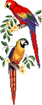 Cross Stitch Bird, Cross Stitch Animals, Cross Stitching, Cross Stitch Embroidery, Cross Stitch Patterns, Tapestry Crochet, Ribbon Work, Crafty Craft, Felt Animals