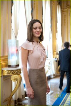 Marion Cotillard looking all business.