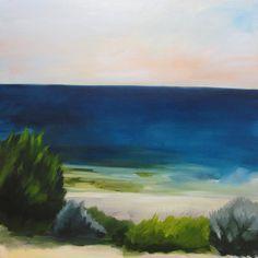Seascape - Painting - Landscape - Rowena Keall Walsh - North Cott Reef