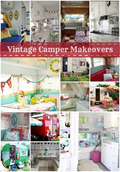 Vintage Camper Makeovers  for Jessica.  And Amy too!