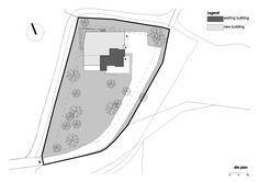 Cherry Orchard Residence, Sofia 2016  Site plan