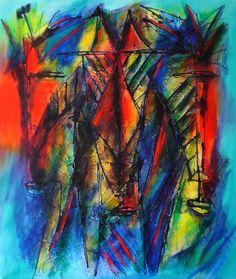 Juan Gomez (Tito) Untitled Acrylic on Canvas Acrylics, Canvas, Gallery, Painting, Art, Tela, Art Background, Painting Art, Kunst
