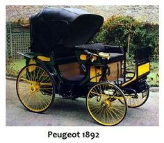"""1892 Peugeot """"Victoria"""" Love, love these old cars, I could pin them all! Vintage Cars, Antique Cars, Peugeot France, Psa Peugeot Citroen, Ford Classic Cars, Vintage Classics, Hot Cars, Motor Car, Cars And Motorcycles"""