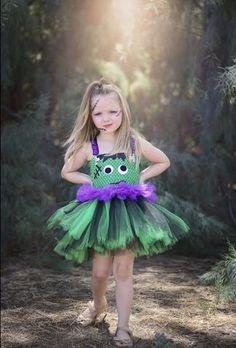 Frankenstein Halloween Tutu Dress Costume - Little Ladybug Tutus