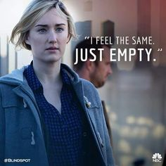 """""""I feel the same, just empty."""" -Patterson"""