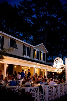 The Thirsty Goat, located in the Port Inn in Port St Joe, is a local favorite. Offering a wide selection of wine, cocktails and domestic & imported beers, the Port Inn is a great spot to meet up with friends and take in the sunset or listen to music on the Goat's spacious patio.