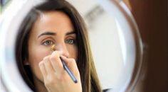 maquillaje para disimular ojeras
