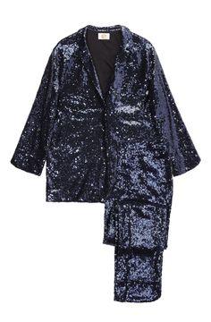 Sequin Pyjama Suit Shop Now Sequin Pyjama Suit Designed exclusively in collaboration with Selfridges, get set to sparkle this christmas party season in Seq Silk Sleepwear, Cotton Pyjamas, Gold Silk, Silk Satin, Pajama Suit, Pajamas Women, Day Dresses, Kimono Top, Sequins