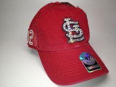 Swarovski crystal bling St. Louis Cardinals by STLSparkle on Etsy
