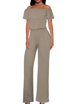 NANYUAYA Womens Plus Size Floral Off Shoulder Spaghetti Strap Shorts Romper