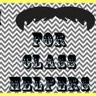 """This set is perfect to accompany a """"Mustache Classroom Theme."""" It includes enough jobs for every student and I have even included a few blank ones ..."""