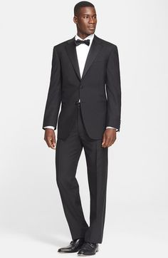 Canali Classic Fit Wool & Mohair Tuxedo available at #Nordstrom
