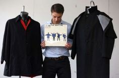 """2 jackets from The Beatles 'Help"""" to be auctioned. britishinvasionmusic.com"""