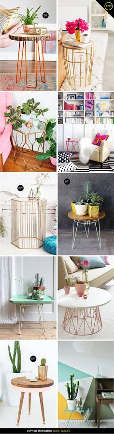 WeLoveHomeBlog.com - sometimes the simplest ideas are the best INSPIRATION | Side Table: