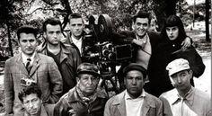 IdeaFixa » Fotos de 20 diretores de cinema em seu primeiro filme- kubrick