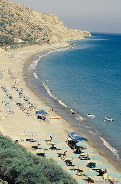 Cyprus Lemesos Pissouri Beach