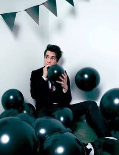 {Brendon Urie} Hey, I'm Brendon. I'm 20 and I love hanging with people. Patrick is a good friend on mine so don't hurt him. I love playing music so you'll most likely see me doing something music related.