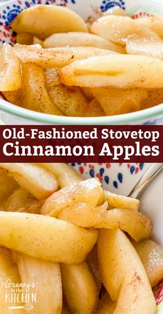 Apple Side Dish Recipes, Apple Recipes Easy, Healthy Recipes, Vegetable Recipes, Fried Apples Recipe Easy, Cooked Apples, Homemade Snickers, Cinnamon Apples, Food Videos