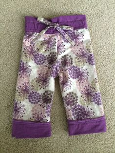Toddler flannel pajama pants