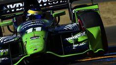 IndyCar: Bourdais et Pagenaud, frères d'armes au pays de l'Oncle Sam (Bourdais lors des quals de Sonoma, le 29 août 2015