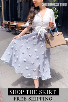 Search results for: 'cotton candy' - Retro, Indie and Unique Fashion Summer Outfits, Casual Outfits, Fashion Outfits, Fashion Trends, Flower Skirt, Party Skirt, Birthday Gifts For Her, Chiffon Skirt, Models