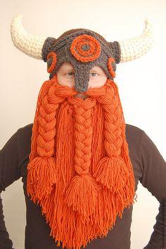 Шапки ручной работы. Ярмарка Мастеров - ручная работа шапка викинг БОЛЬШОЙ рыжий. Handmade.