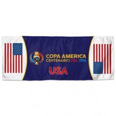 "Copa America Centenario WinCraft ""USA 2016"" Blue Instant Cooling Towel 12"" x 30"""
