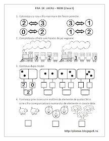 Fise de lucru - gradinita: FISE de lucru MEM - Matematica Clasa Pregatitoare - Multimi, Comparari, Numere pare / impare Kindergarten Math Worksheets, Math Literacy, Preschool Math, Math 2, Educational Activities For Kids, Kids Learning, Teaching Emotions, Math Pages, Kids Schedule