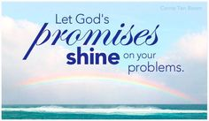 God's promises cover our problems--all of them, every time. Is anything too hard for The Lord?