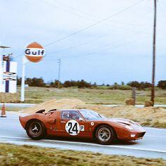 Graham Hill/Jackie Stewart, @AlanMannRacing Ford GT40, Sebring 12 Hours, 1966