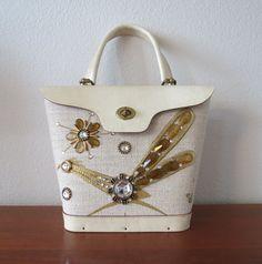60s Enid Collins handbag / Enid Collins by SwanSongVintage1