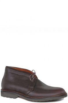 Alden Shoes - Dark Brown Kudu Chukka Boot 1272S,
