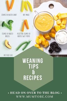 Weaning tips and recipes for baby led weaning and spoon feeding baby