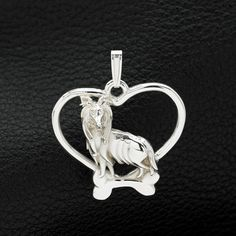 Sterling Silver Sheltie Pendant with Chain. 25% off through May 10th.  Apply Coupon MOTHERSDAYOFF25 at register