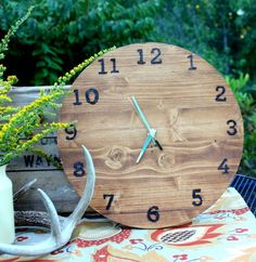 It's time for our monthly power tool challenge. This month I made a wood clock and was surprised that it truly wasn't difficult at all.